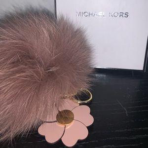 Michael Kors Pom Keychain